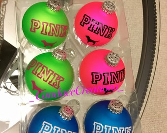 PINK INSPIRED Christmas Ornaments