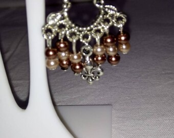Lily flowers earrings