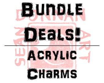 Bundle Deals! Acrylic Charms