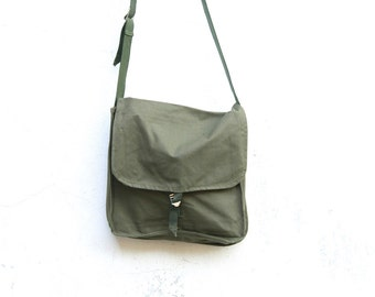 Vintage Military Bag Canvas Army Bag Soviet Unused USSR Cold War Collectible, Army Bag, Crossbody Bag,  ammo messenger bag, ohtteam