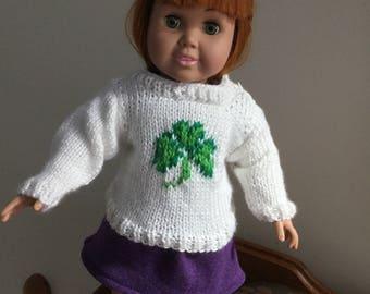 Shamrock Doll Sweater
