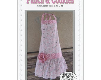 Sew Much Good PUNCH & COOKIES APRON Sewing Pattern