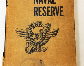 The Bluejackets' Manual. The United States Navy. Vintage book circa 1957. Annapolis, Maryland. U.S. Naval Institute. gift. Military history