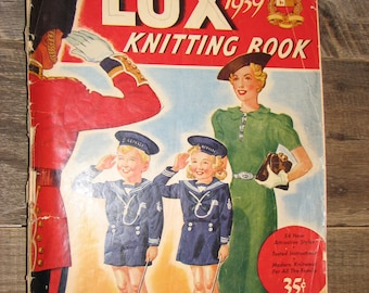 Lux Knitting Book 1939
