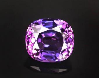 2.9 ctw. blue purple sapphire loose gemstone.
