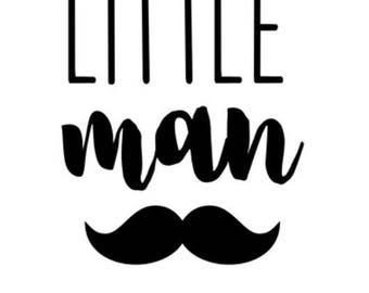 Little Man ONESIE, Baby Shower Gifts, Baby Boy, Onesie, Mustache Onesie