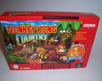 Donkey Kong Country CIB Pal (New, Mint, Amazing condition)