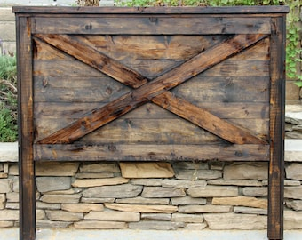 Lovely Barn Door Headboard By Foo Foo La La