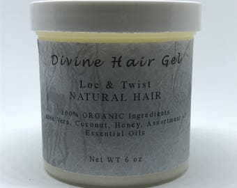Divine Hair Gel - Loc & Twist - Natural Hair