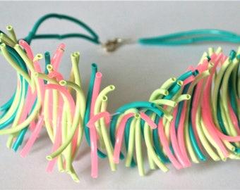 Pastel Plumage Necklace