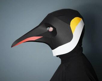 Emperor Penguin Full Mask