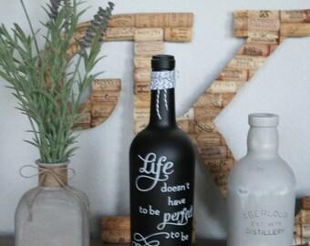 Wine Bottles Rejuvenated