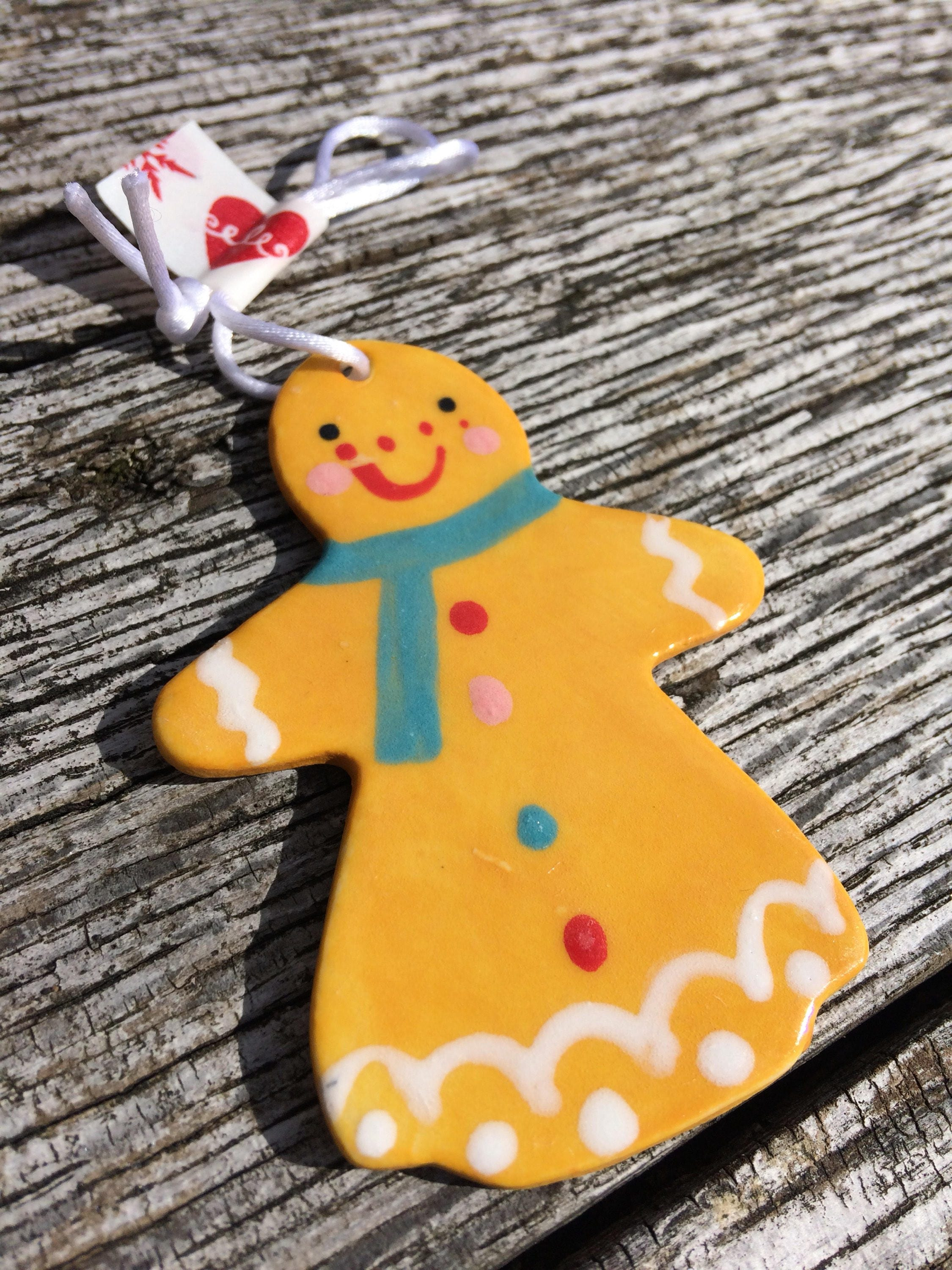 Gingerbread Lady.Hanging Decorations.Christmas tree decorations ...