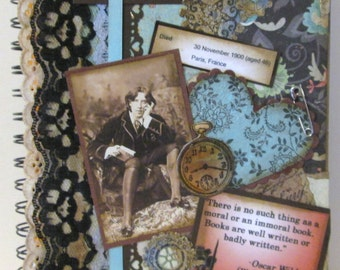 Oscar Wilde Notebook or Journal