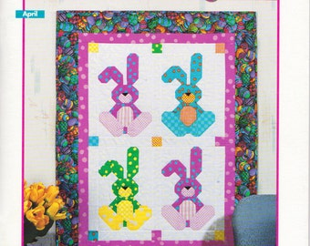 Festival of Calendar Quilts, Quilt Patter,  12 Delightful Wall Quilts to celebrate Each Month of the Year, House of White Birches