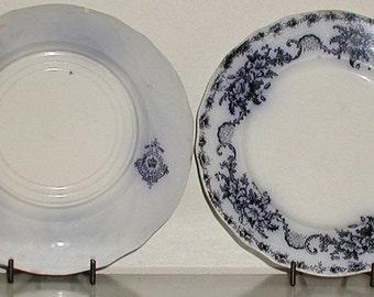 Mentone Flow Blue Plate by Meakin