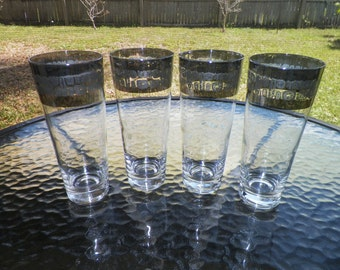 Canonsburg Temporama Glasses Set of Four Pint Glasses