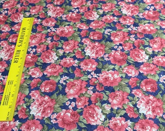 Stella-Red Roses Cotton Fabric from Windham Fabrics