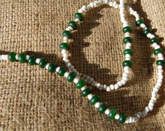 Jade and Onyx Necklace