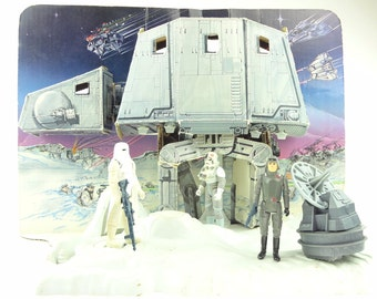 Vintage Star Wars Hoth Ice Planet Playset 1980 Complete With Extras