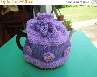 Hand Stricken auf Verkauf Tee gemütlich Tee gemütlich - handgestrickt, Vintage-Stil, Teekanne, Teekanne Cosy
