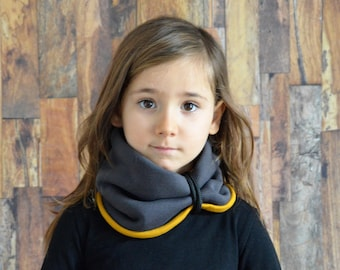 cowl,neckwarmers,scarf,kids hooded cowl,girls cowl,scarves,organic cotton clothing,outdoor,girls neckwarmer,girls scarf,organic cotton,