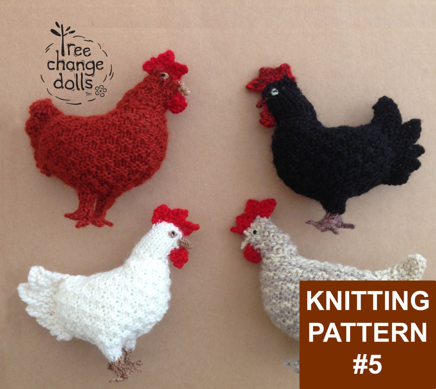 Fine Tiny Knitted Animals Patterns Photo - Blanket Knitting Pattern ...