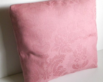 Damask Pillow Cover - Pink/Rose  (16in.)