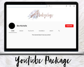 Youtube Banner | Youtube Package | Youtube Entrepreneur