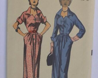 Vintage Sewing Pattern Advance 5953 Women's Dress