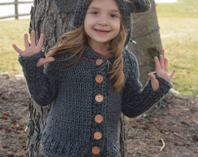 IN STOCK - Bladyn Bear Sweater Size 3/4T