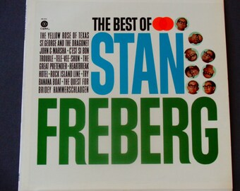 "The Best of Stan Freberg - ""St. George and the Dragonet"" - Comedy - Capitol Records Re-Issue - Vintage Vinyl LP Record Album"