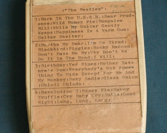 8 track the beatles tape Unchecked