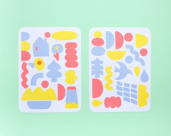Rain & Sun (Set of 2) Sticker