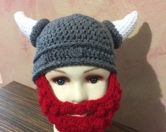 Viking Toddler Hat and Beard