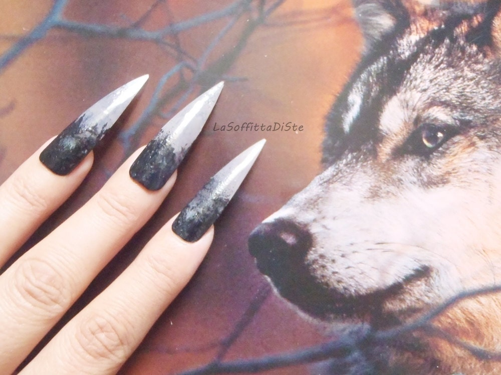 werewolf witch zombie halloween wolf talons claws long wolf