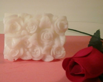 Three Butter Soap, Handcrafted Rosie Soap