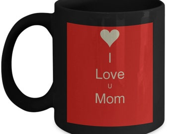 I love u mom heart