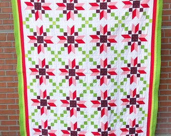 Christmas Stepping stone quilt
