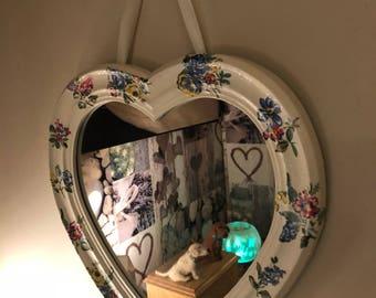 Cath Kidston Love Heart Mirror