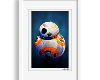 Star Wars Droid BB-8 Print