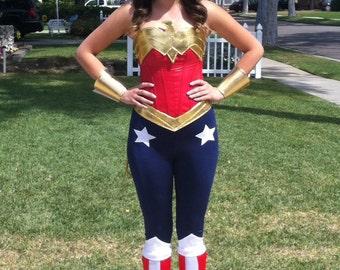 Wonder Superhero Woman Boot Covers