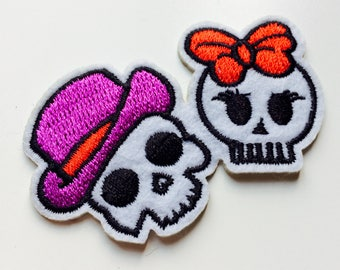 Skeleton | Bones | Patch | Cute | Hipster | Trendy | Emo | DIY | Fashion | Retro
