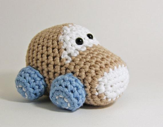 Amigurumi Patterns Cars : Amigurumi car crochet pattern stuffed toy tutorial english and