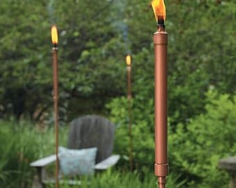Torch for Lemongrass / / urban Chic / / copper