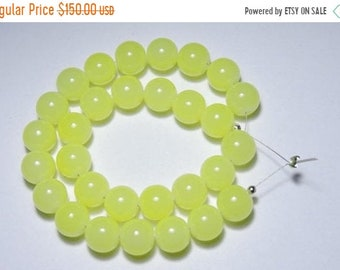 25% OFF Summer Sale 30 Pieces Gorgeous Natural Prehnite Chalcedony Smooth Polished Balls Size 12 MM