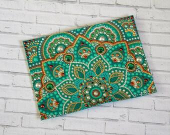 Passport holder Passport cover for women Passport covers women Womens passport wallet Passport pouch Green passport wallet Mint cover gift