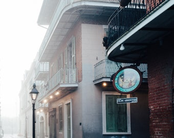 New Orleans Pirate Alley Bar Greeting Card