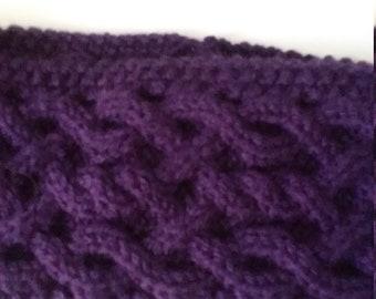 Purple head band