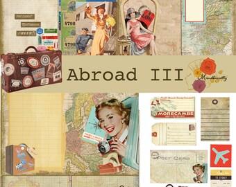 Abroad III (Digital paper)